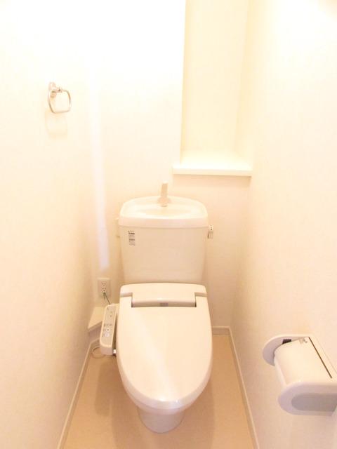 プロビデンシャル 202号室のトイレ
