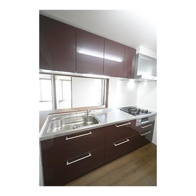 コリーヌ緑ヶ丘グラン 202号室のキッチン
