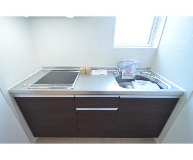 ASN 101号室のキッチン