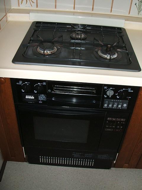 碑文谷3丁目住宅のキッチン