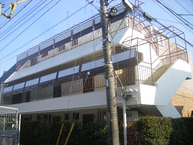 コーポ浜田 205号室の外観