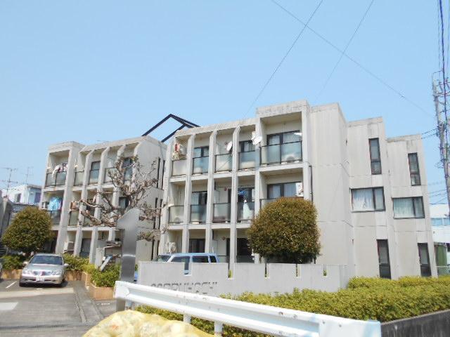 上島コモンコートD棟外観写真