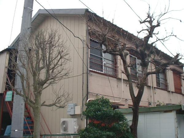 長谷川アパート外観写真