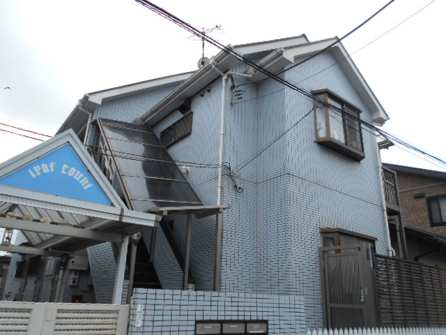 リーフコート江戸川台A棟外観写真