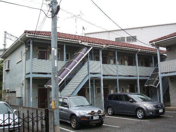 ジャンポールA棟外観写真