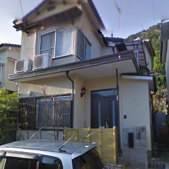 嵐山山ノ下町住宅外観写真