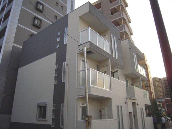 アハイブ箱崎駅前 201号室の外観
