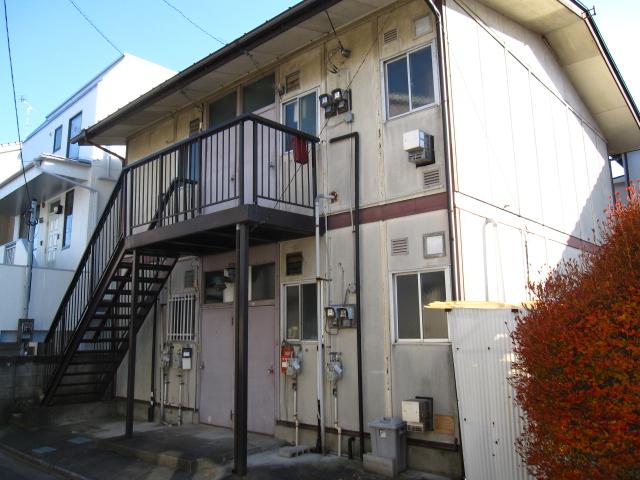 古沢アパート外観写真