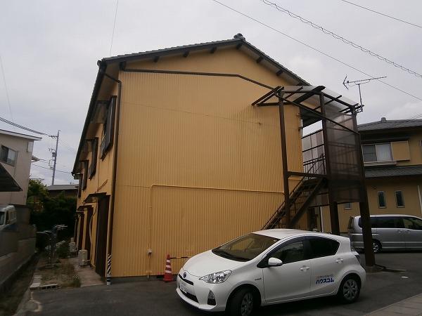 八幡荘 7号室の外観