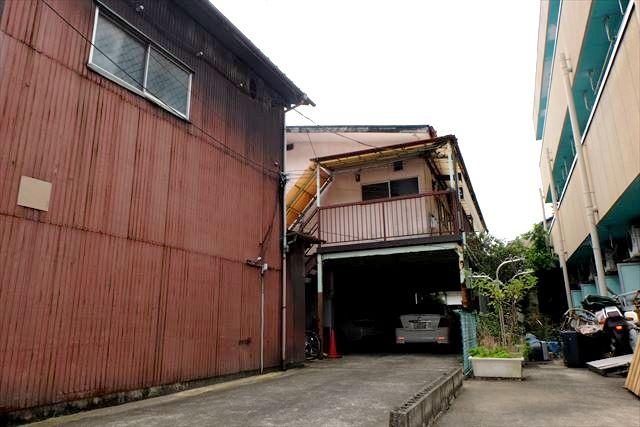 安井アパート外観写真