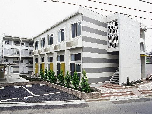 レオパレスsakura 206号室の外観