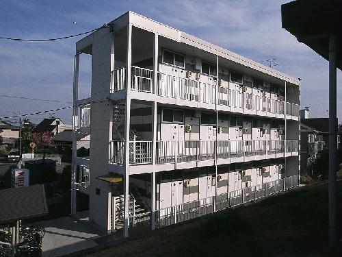 レオパレスリバーパーク外観写真
