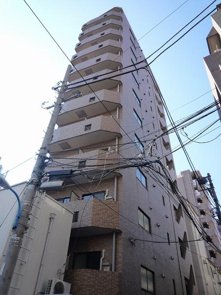 スカイコート新宿曙橋外観写真