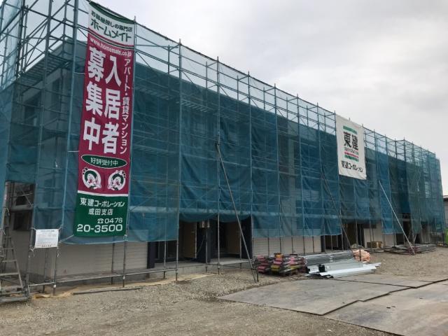 仮)大清水 アパート新築工事外観写真