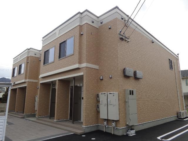 ベース新田南 00102号室の外観