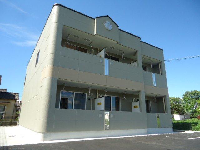 枚方市藤阪元町2丁目賃貸アパート新築工事外観写真