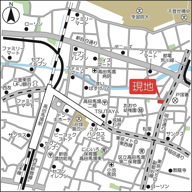 BPRレジデンス西早稲田外観写真
