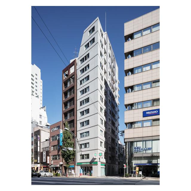 コンフォリア上野広小路外観写真