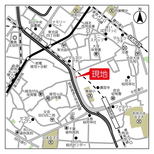 ロネスタR文京護国寺外観写真