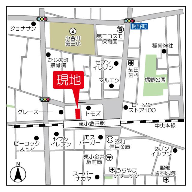 LAPiS東小金井Ⅰ外観写真