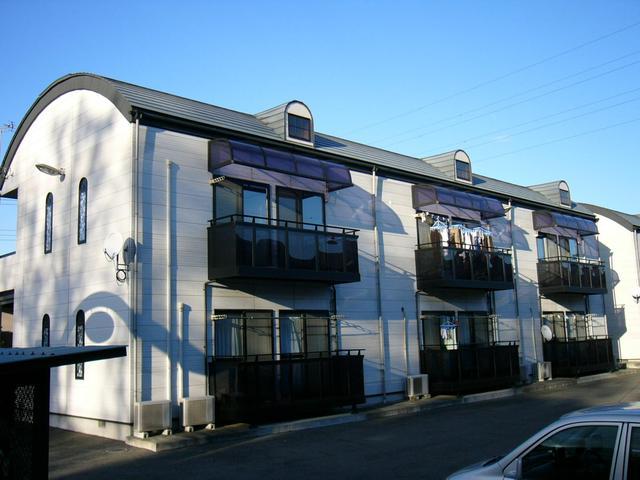 第一MHハウスA棟 208号室の外観