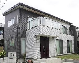 東越谷戸建の外観