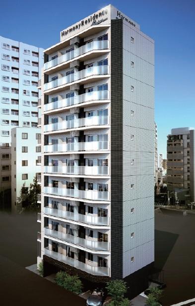 ハーモニーレジデンス上野ノースフロント外観写真