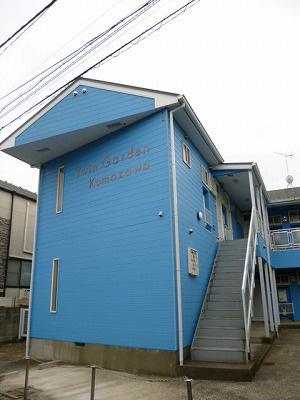 ツウィンガーデン駒沢 201号室の外観