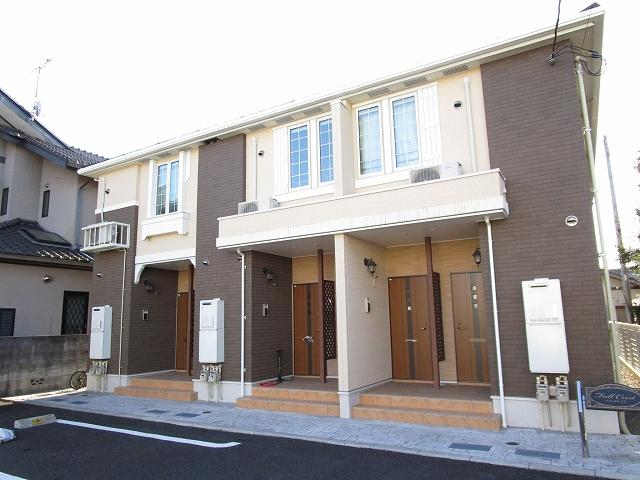 渡里町アパート外観写真