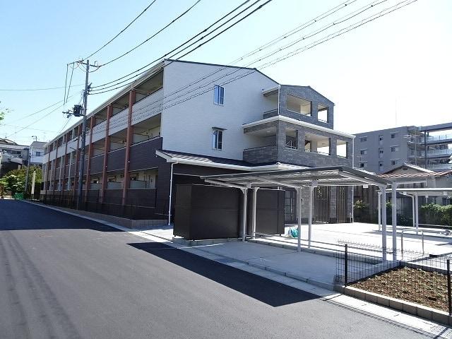 広野町アパートB外観写真