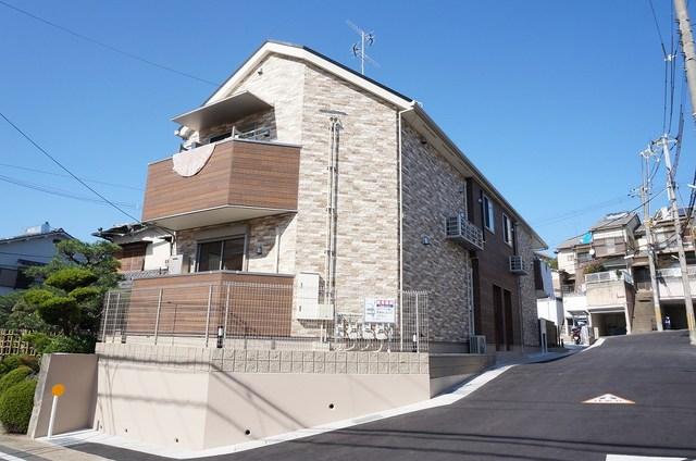 広野町アパート外観写真