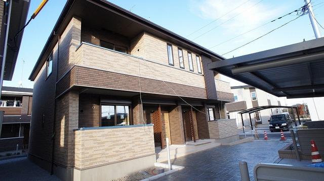加須市アパート外観写真