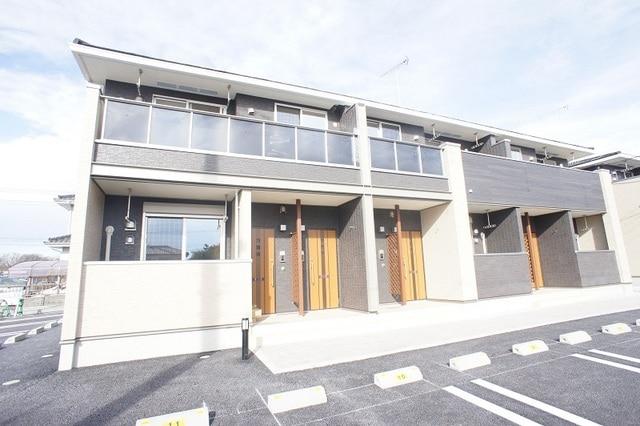 上三川町しらさぎアパート外観写真