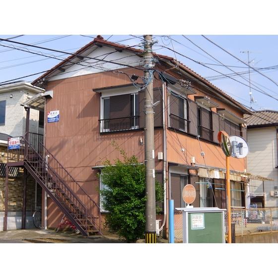 福島荘 202号室の外観