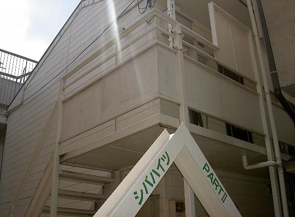 シバハイツパート・2外観写真