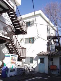 建部アパートB棟外観写真