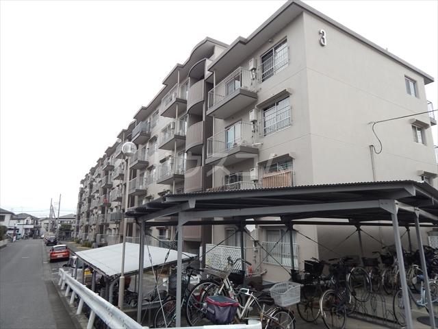 藤和春日部ハイタウン3号棟外観写真
