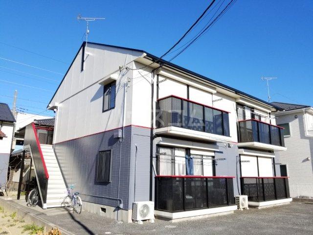 コーポ増田B棟 201号室の外観
