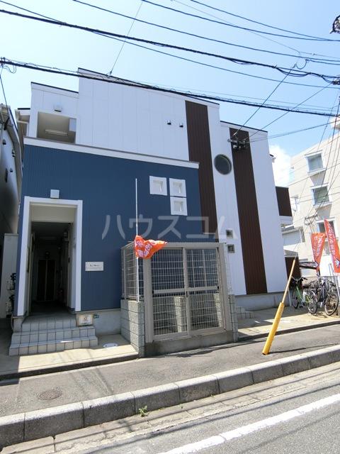 ラ・メール高田 201号室の外観
