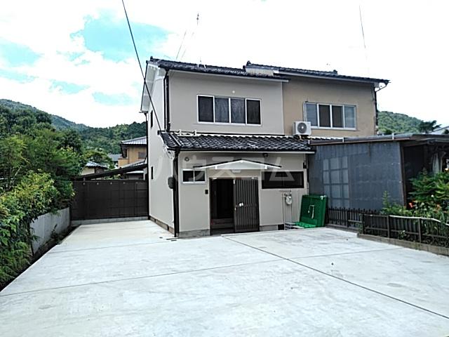 小倉山堂ノ前町貸家外観写真