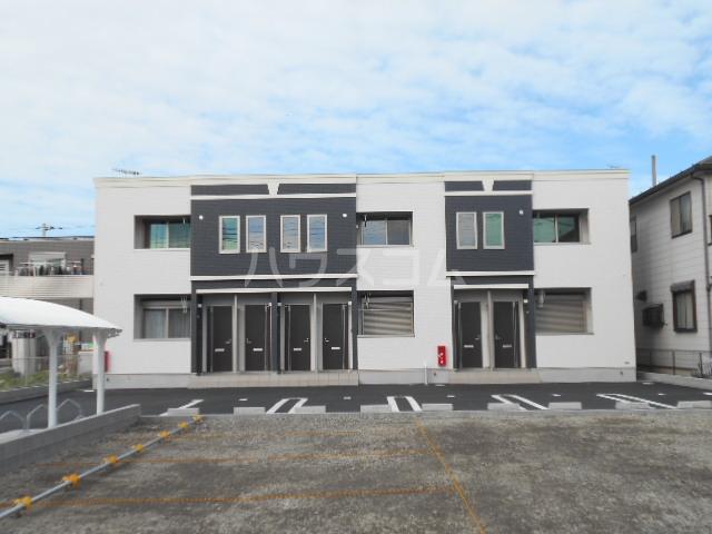 (仮称)中新田5丁目①アパート新築工事外観写真