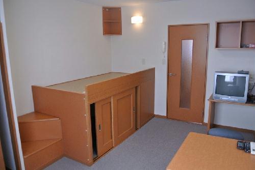 レオパレスアネックス 203号室のベッドルーム