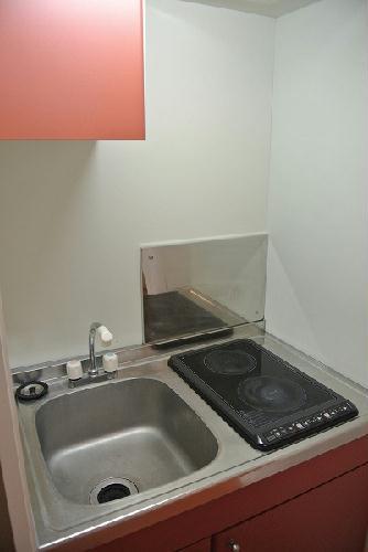 レオパレスアネックス 203号室のキッチン