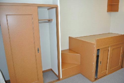 レオパレスアネックス 203号室の収納