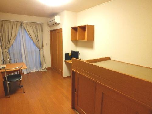 レオパレスSAKURA 201号室のリビング