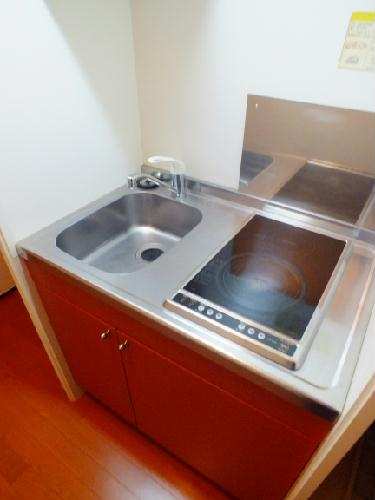 レオパレスSAKURA 201号室のキッチン