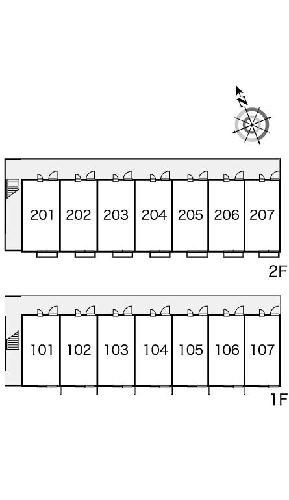 レオパレス上戸祭 106号室のその他共有