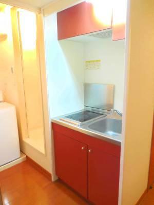 レオパレスMK Ⅰ 104号室のキッチン