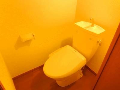 レオパレスMK Ⅰ 104号室のトイレ