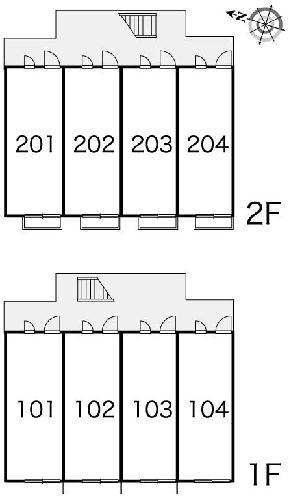 レオパレスパークヒル三室 103号室のその他